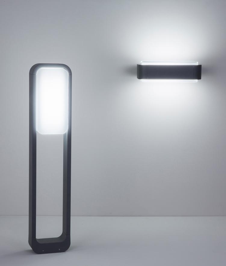 Lámpara baliza de jardín STICKER LED modelos