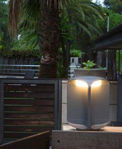 Lámpara baliza exterior LED BU-OH ambiente