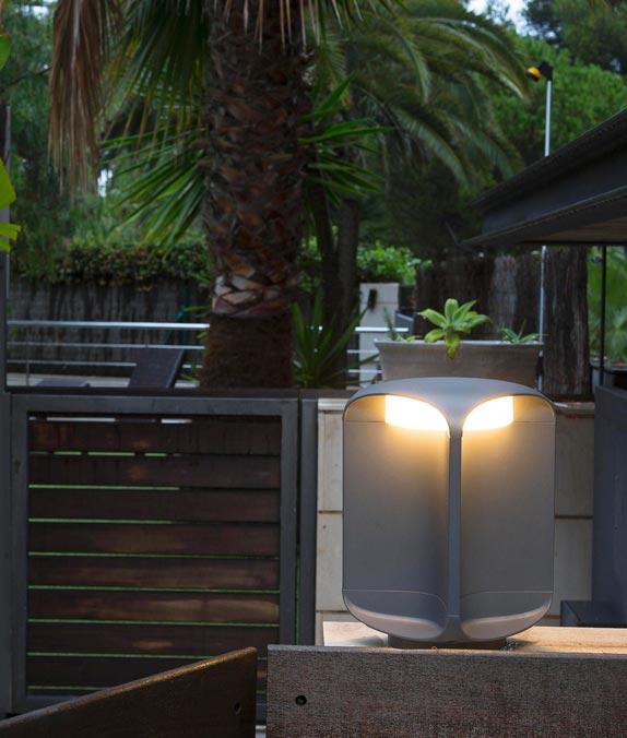 L mpara baliza exterior led bu oh la casa de la l mpara for Balizas iluminacion exterior