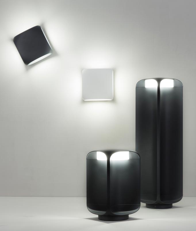 Lámpara baliza exterior LED BU-OH modelos