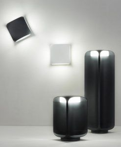 Lámpara baliza gris oscura LED BU-OH modelos