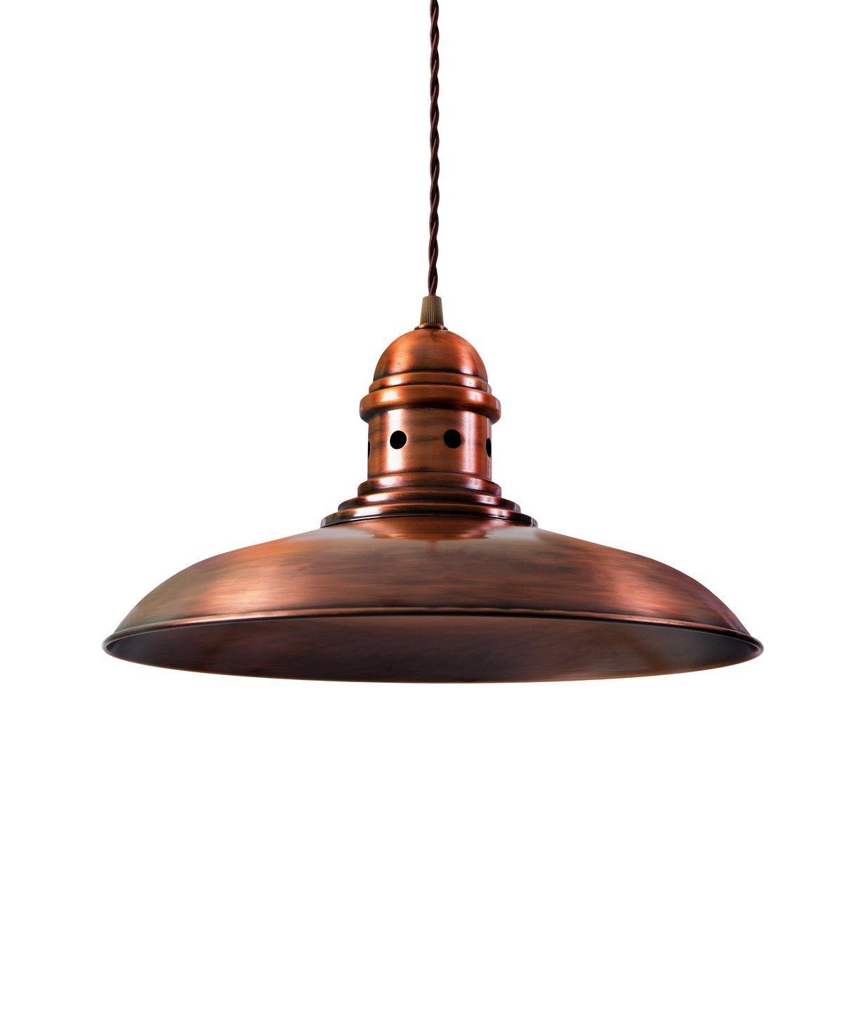 Lámpara colgante cobre DORTMUND