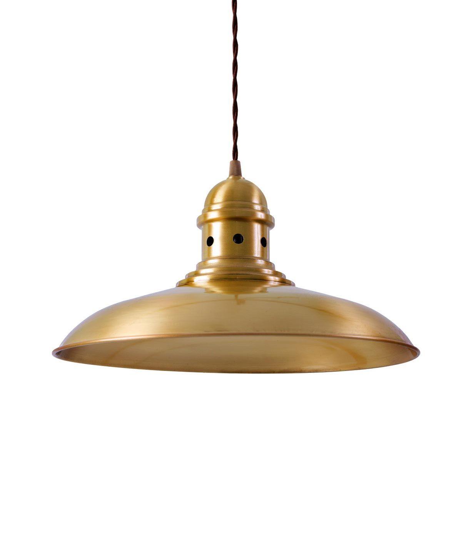 Lámpara colgante oro DORTMUND