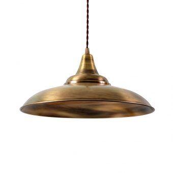 Lámpara color oro envejecido DÜSSELDORF