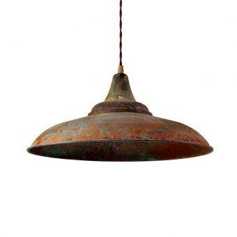 Lámpara color óxido DÜSSELDORF