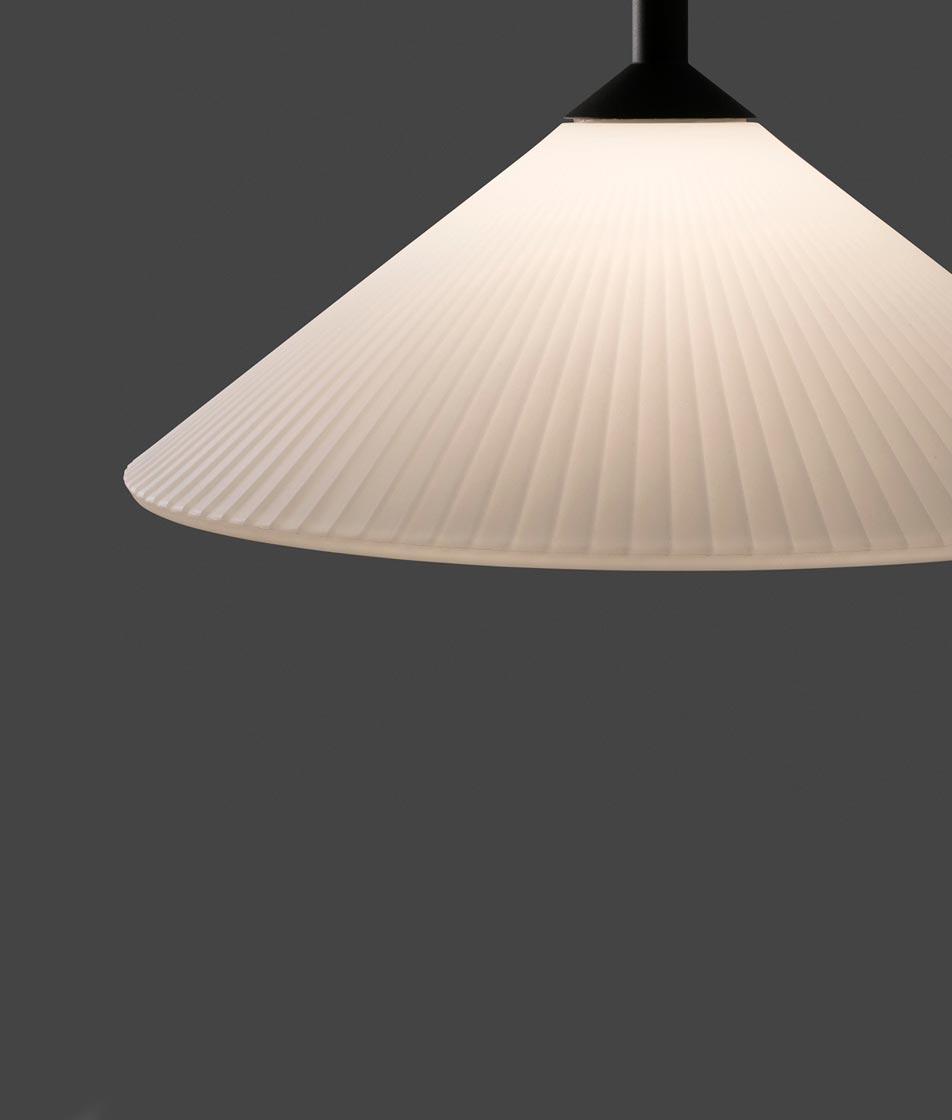 Lámpara de techo exterior HUE detalle