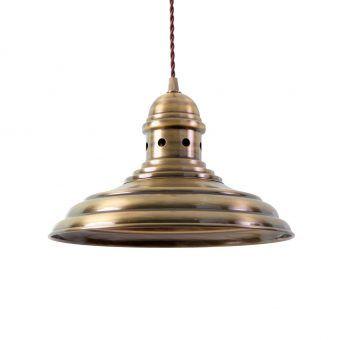 Lámpara de techo oro envejecido MÜNCHEN