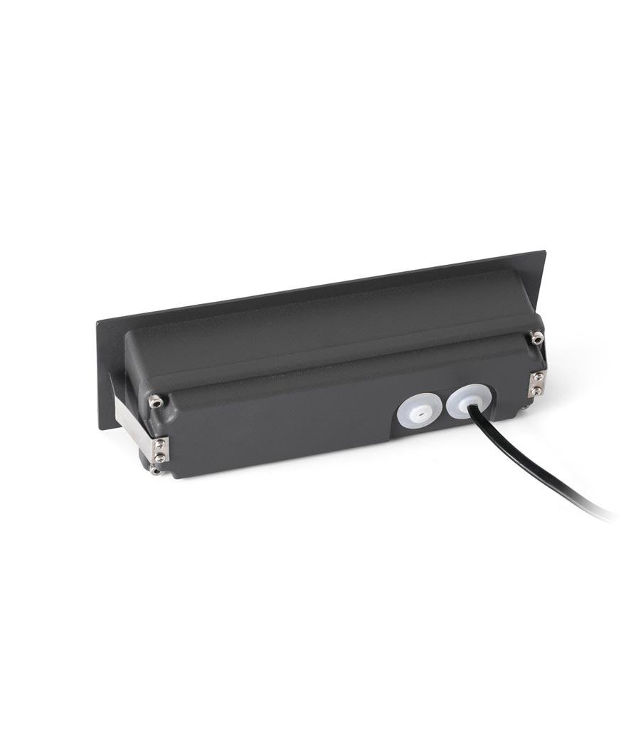 Lámpara empotrable LED NAT detalle caja