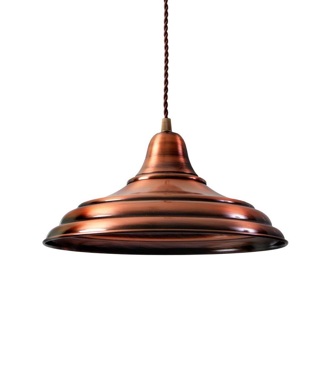 Lámpara industrial cobre HANNOVER