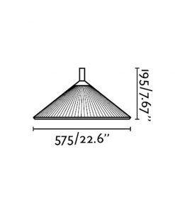 Medidas lámpara portátil de exterior HUE