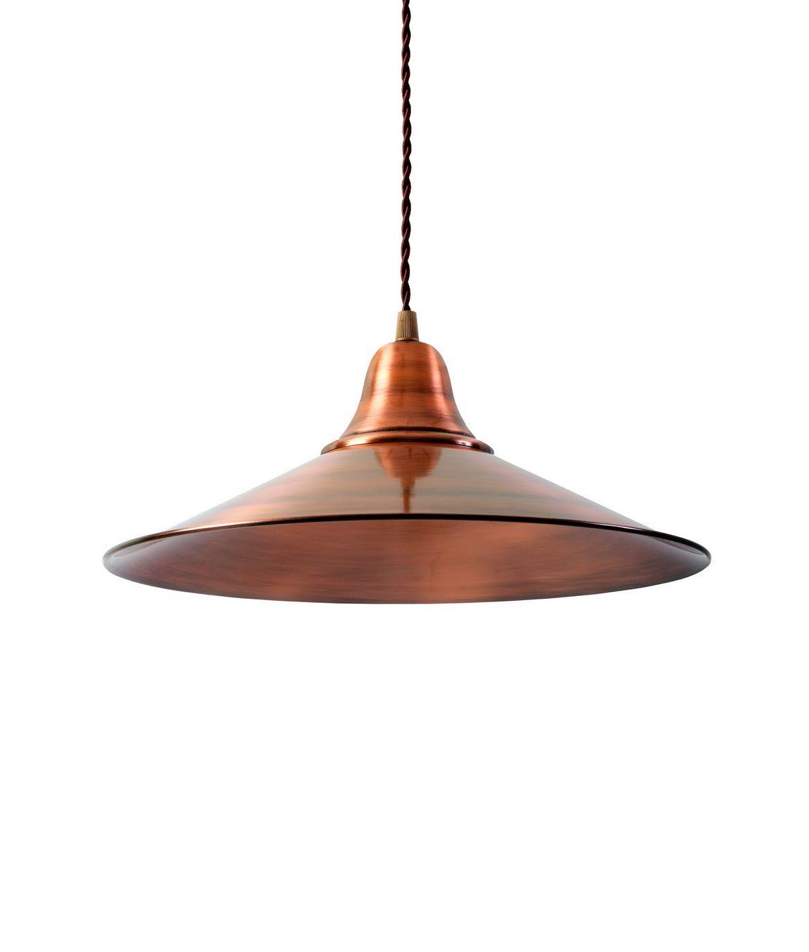 Lámpara retro/vintage cobre KÖLN