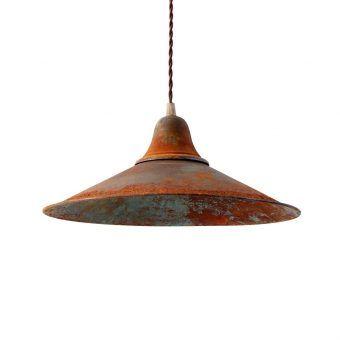 Lámpara retro/vintage óxido KÖLN
