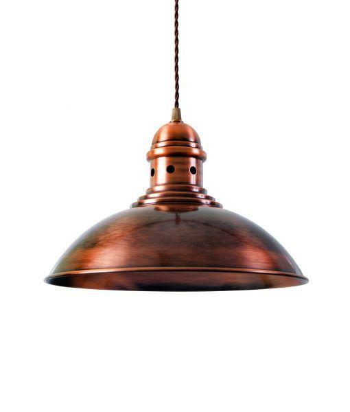 Lámpara techo cobre FRANKFURT