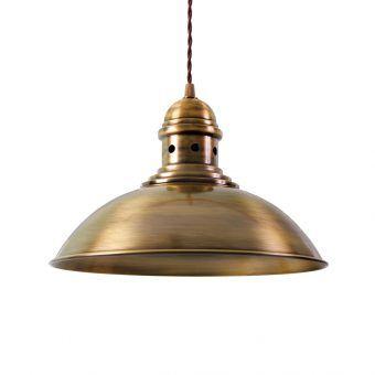 Lámpara techo oro envejecido FRANKFURT