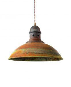Lámpara techo óxido FRANKFURT