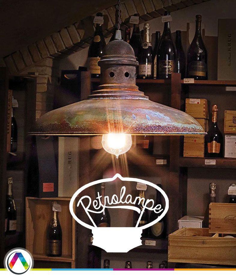 Lámparas retro vintage Retrolampe en La Casa de la Lámpara