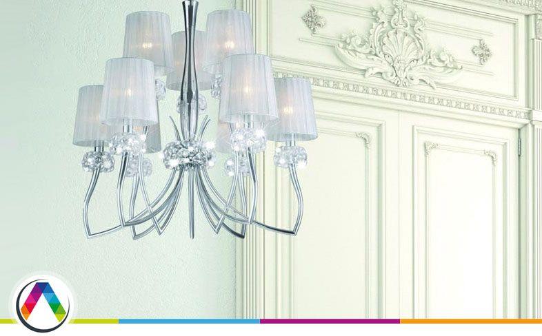 Limpiar una lámpara de araña - La Casa de la Lámpara