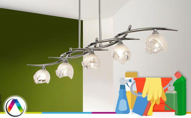 Limpiar una lámpara - La Casa de la Lámpara