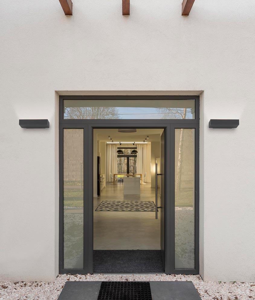 Moderno aplique exterior tore led la casa de la l mpara for Apliques exterior modernos