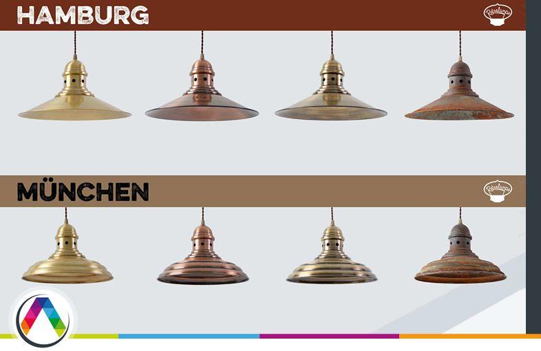 Colecciones de lámparas retro vintage Retrolampe en La Casa de la Lámpara