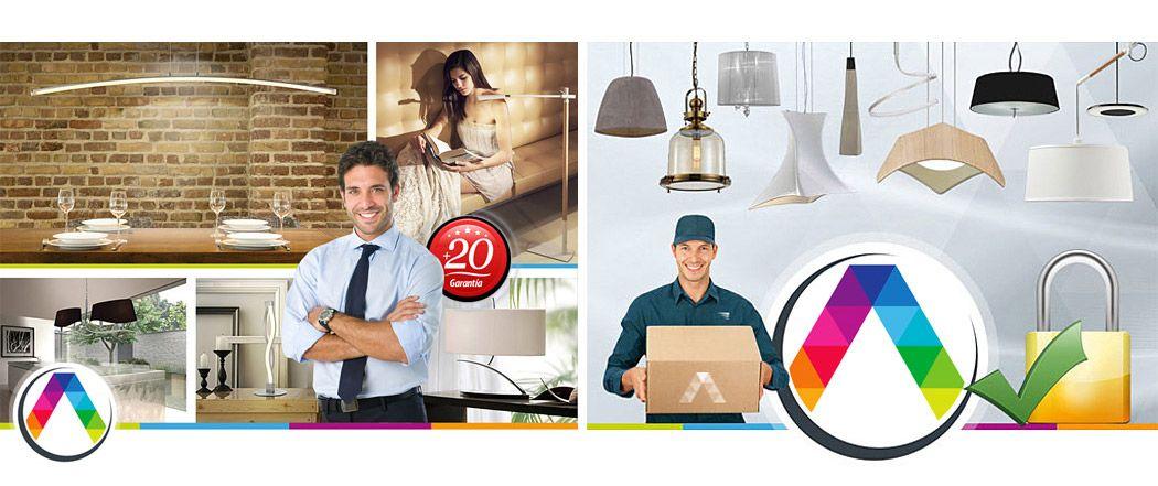 La Casa de la Lámpara es tu tienda de lámparas 100% on-line