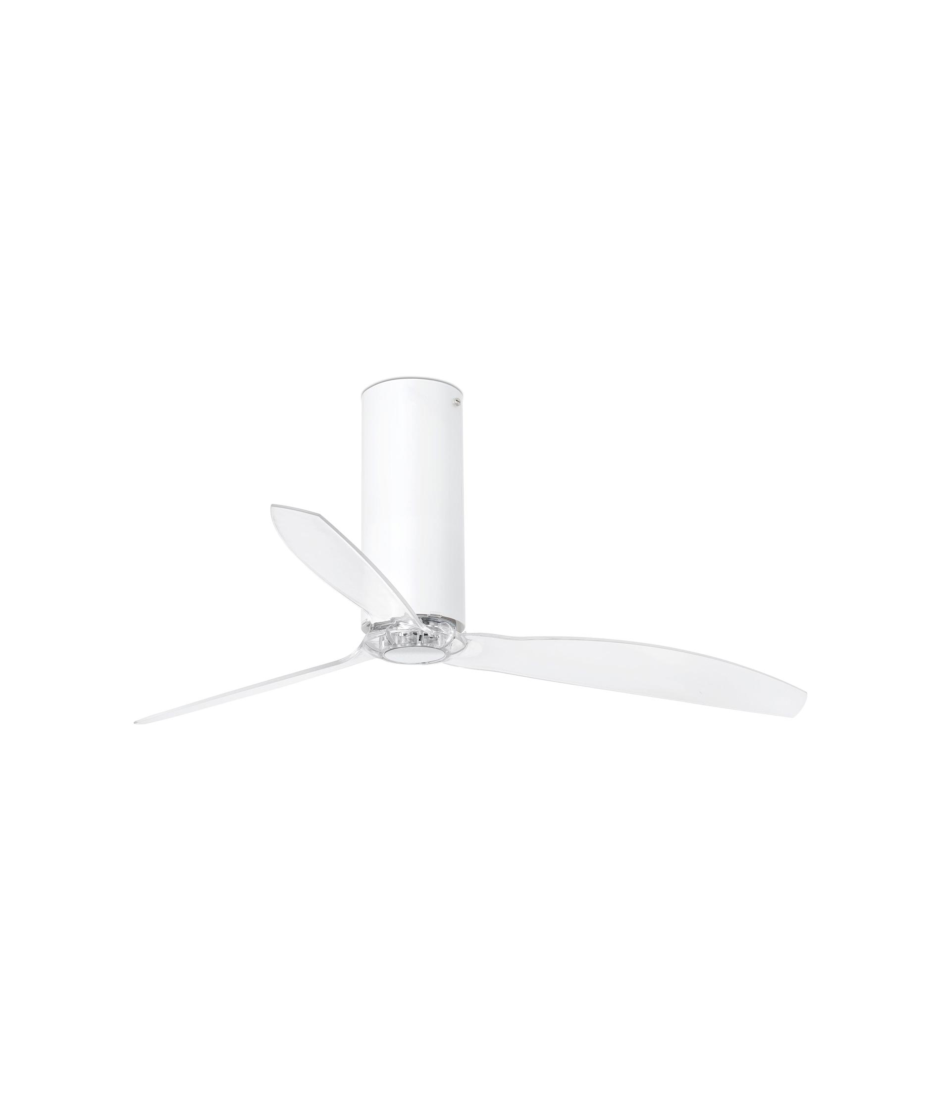 Ventilador blanco mate TUBE FAN