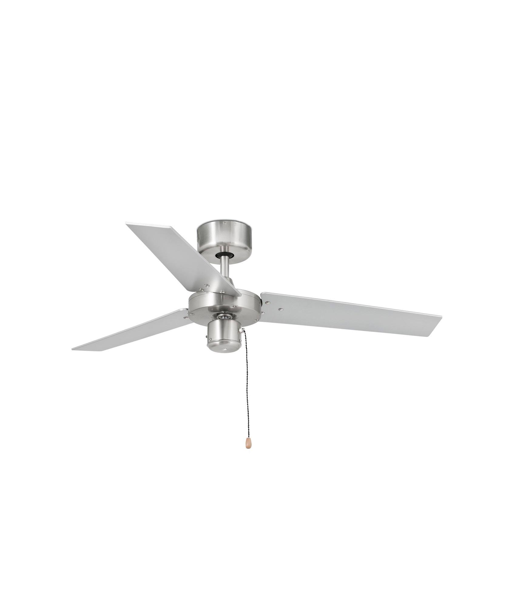 Ventilador color aluminio cepillado FACTORY