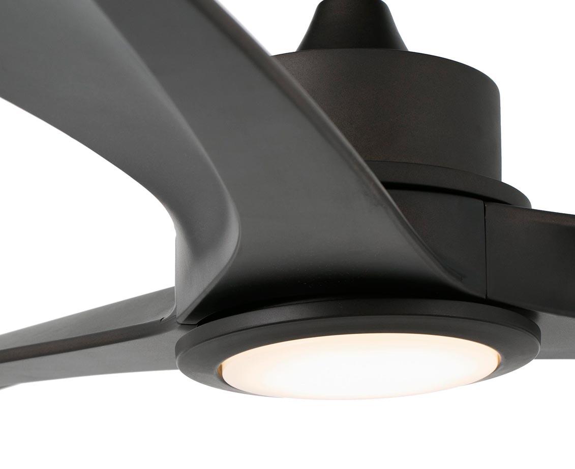 Ventilador con iluminación LED TONIC detalle