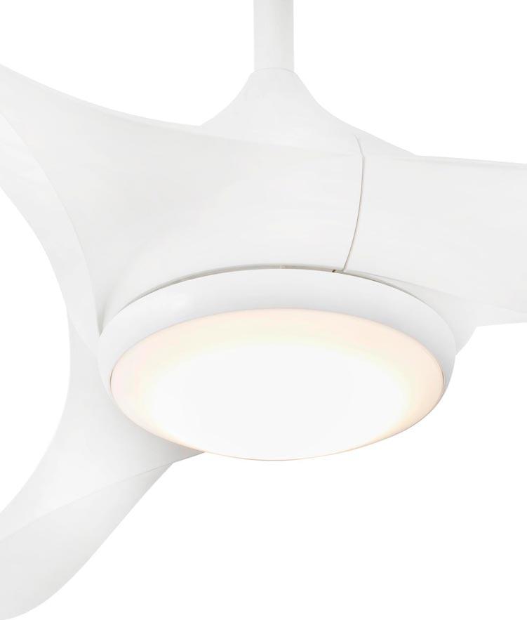 Ventilador con luz LED BAHAMAS detalle 2