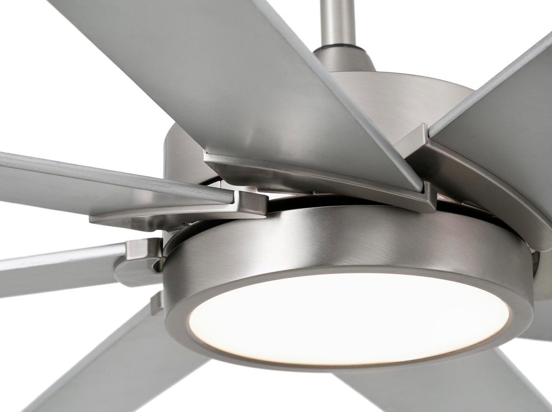Ventilador con motor DC CENTURY LED detalle