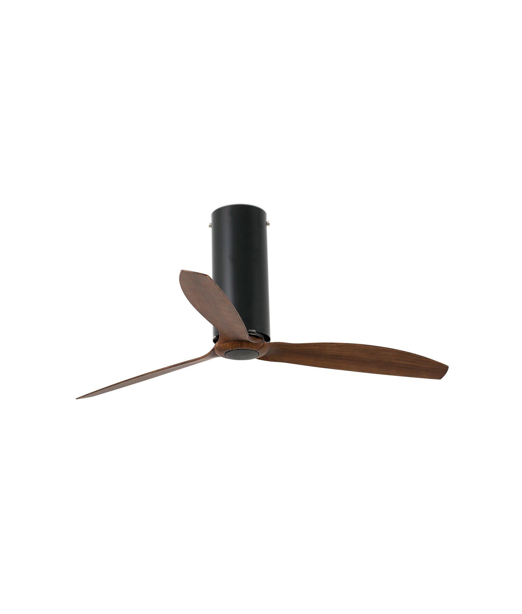 Ventilador de techo negro TUBE FAN