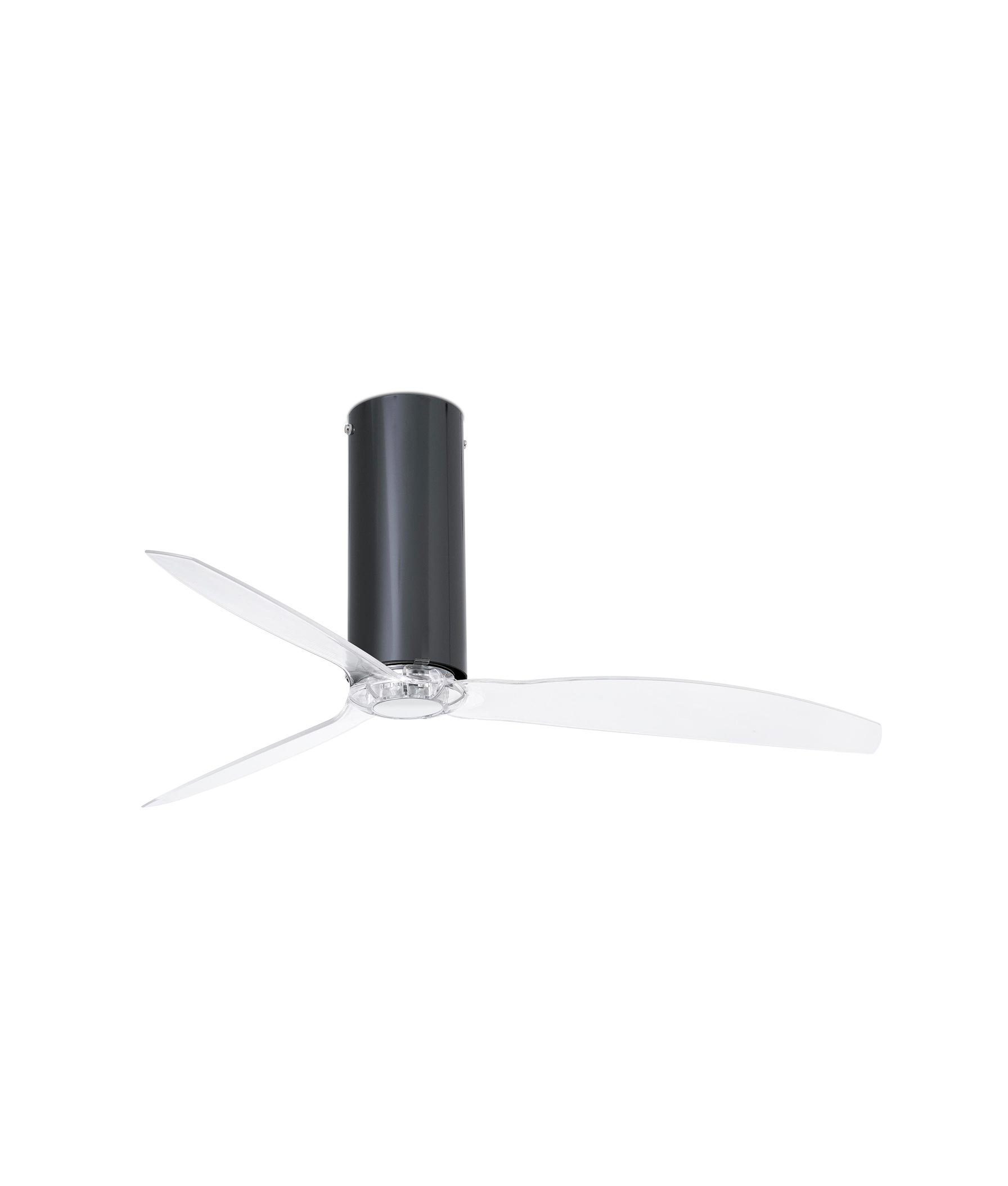 Ventilador negro brillo TUBE FAN