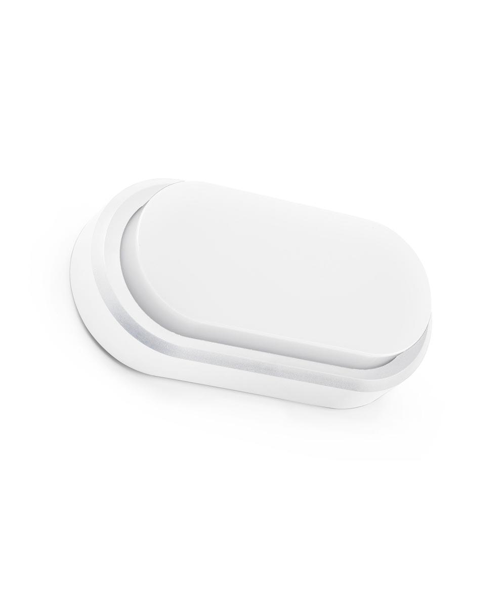 Aplique blanco exteriores FRED LED