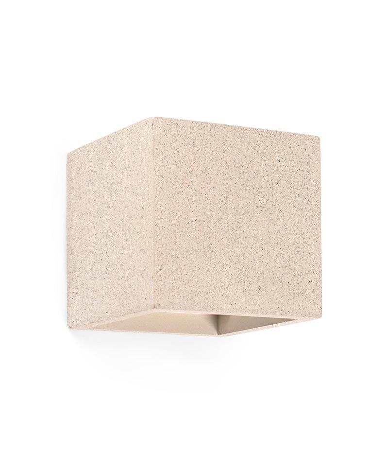 Aplique cemento beige KAMEN