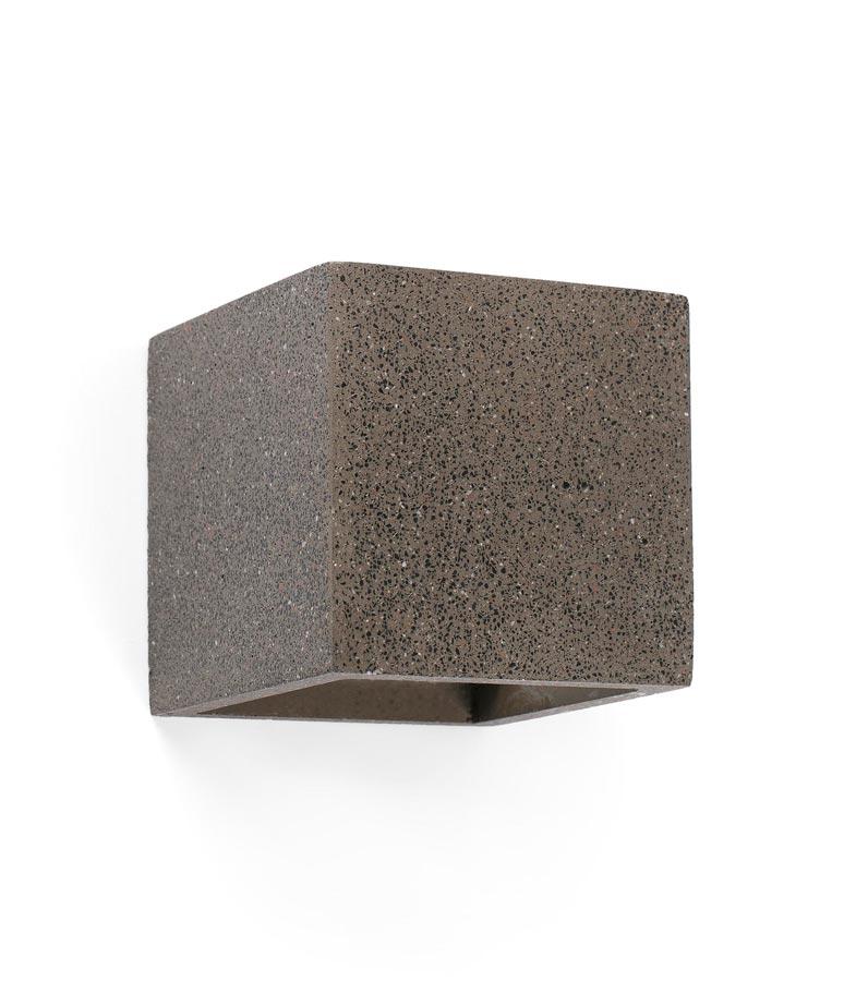 Aplique minimalista gris KAMEN