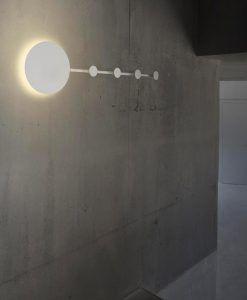 Lámpara aplique y perchero HAN LED ambiente 2