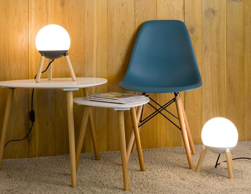 Lámpara de diseño blanca MINE ambiente 2