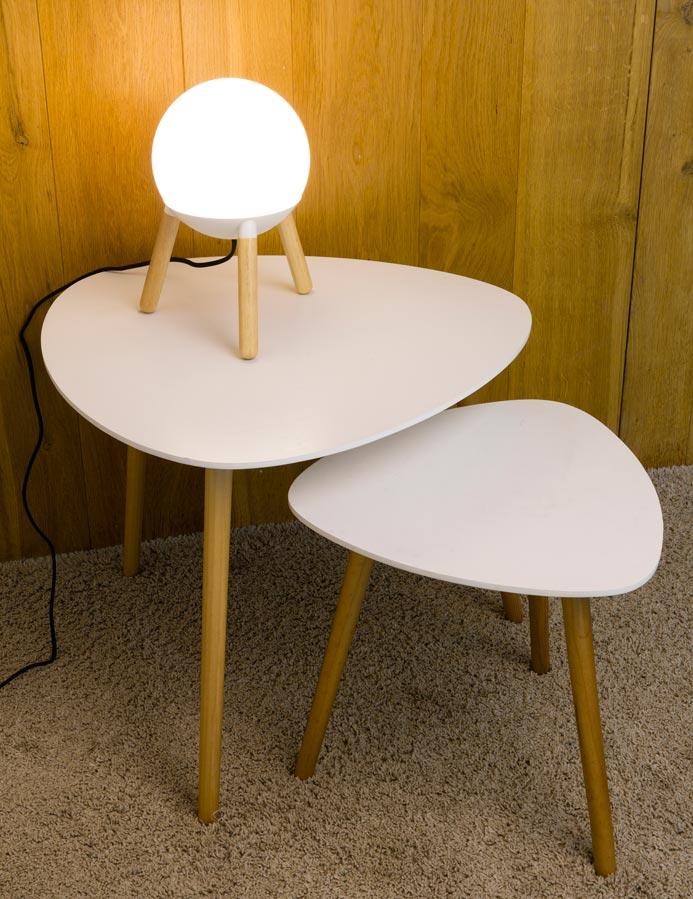 Lámpara de diseño blanca MINE ambiente