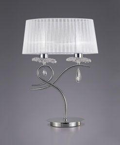 Lámpara de mesa diseño elegante LOUISE