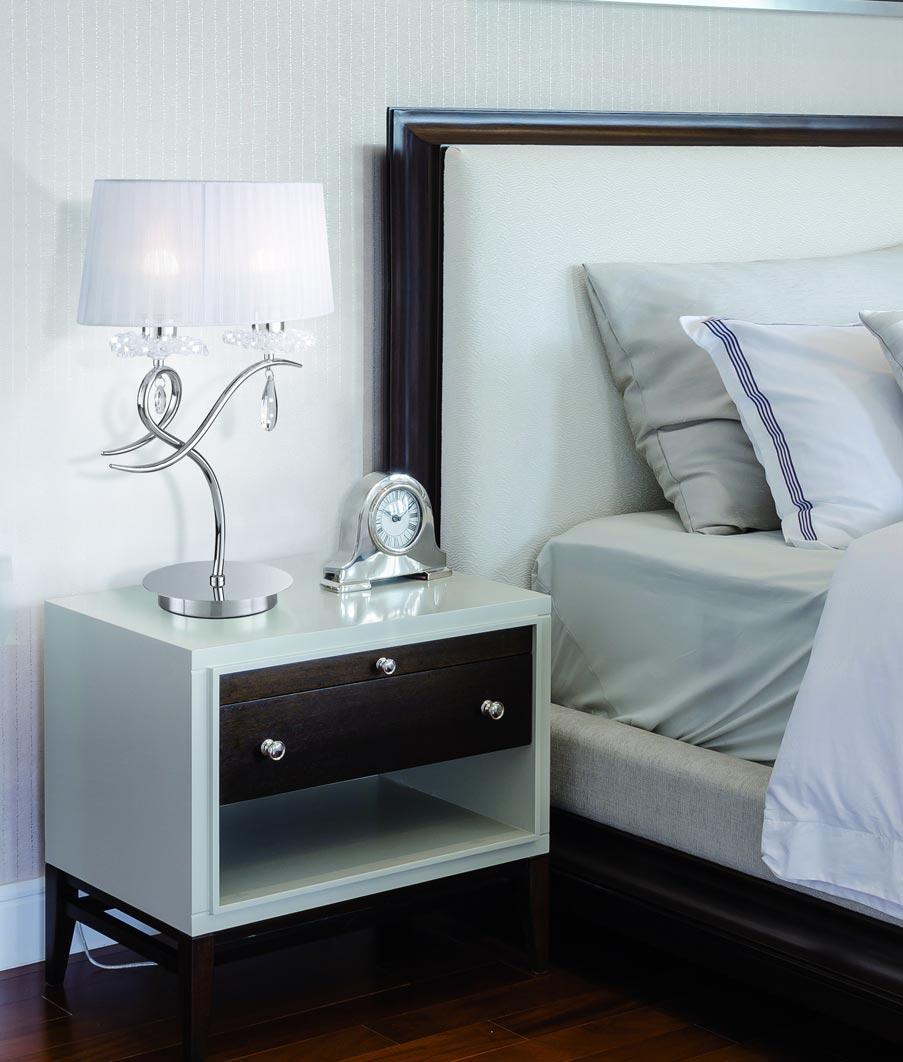 Lámpara de mesa diseño elegante LOUISE ambiente