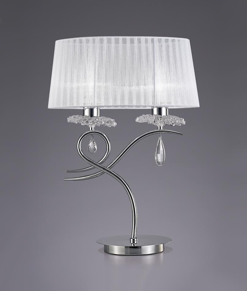 L mpara de mesa dise o elegante louise la casa de la l mpara - Casa de las lamparas ...