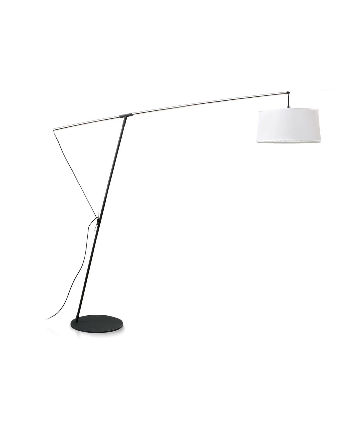 Lámpara de pie blanca 1 luz NORDICA