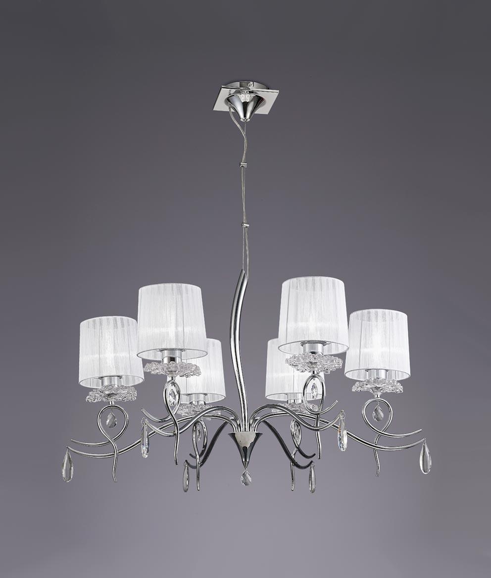 Lámpara de techo 6 luces LOUISE