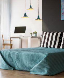 Lámpara de techo azul NINETTE ambiente