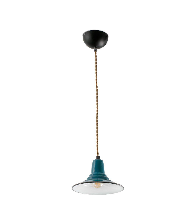 Lámpara de techo azul NINETTE