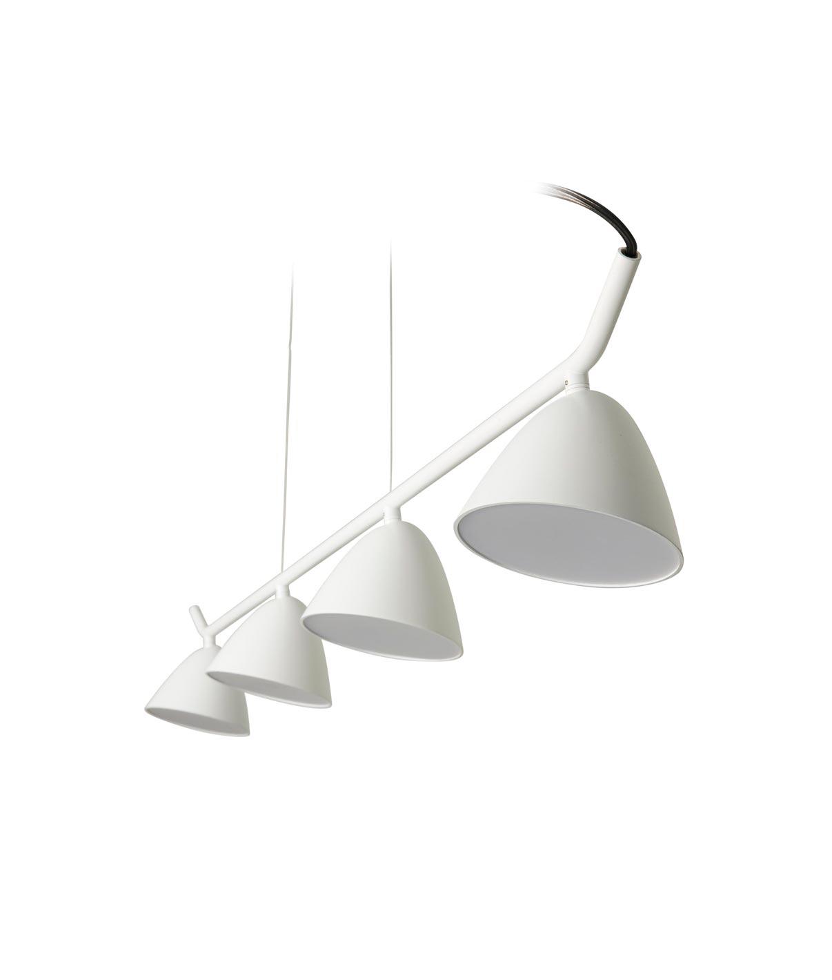 L mpara de techo lineal 4 luces flash led la casa de la - Casa de las lamparas ...