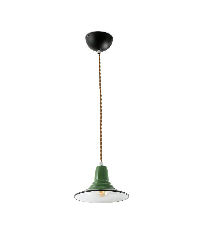 Lámpara de techo verde NINETTE
