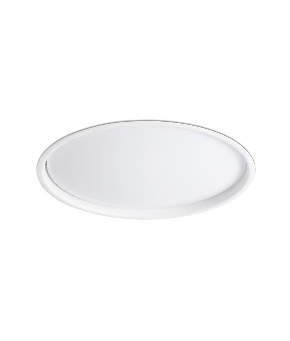 Lámpara empotrable LED blanca LUAN