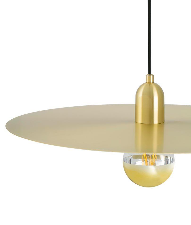 l mpara estilo escandinavo oro plat la casa de la l mpara On lamparas estilo escandinavo