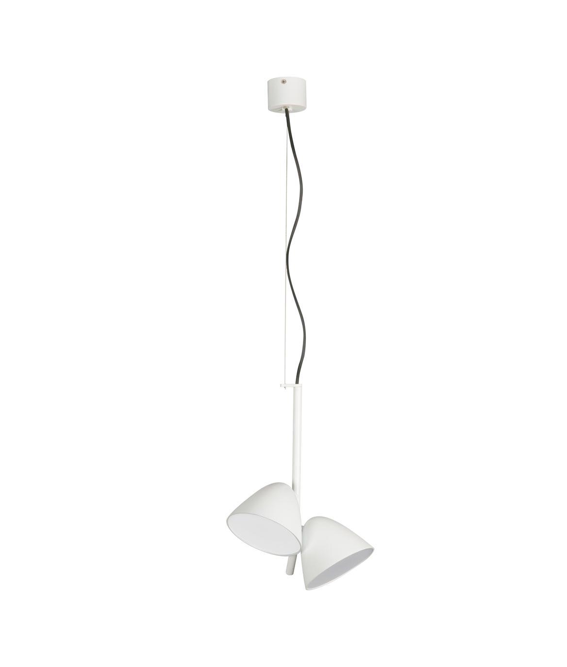 Lámpara LED con dos luces FLASH
